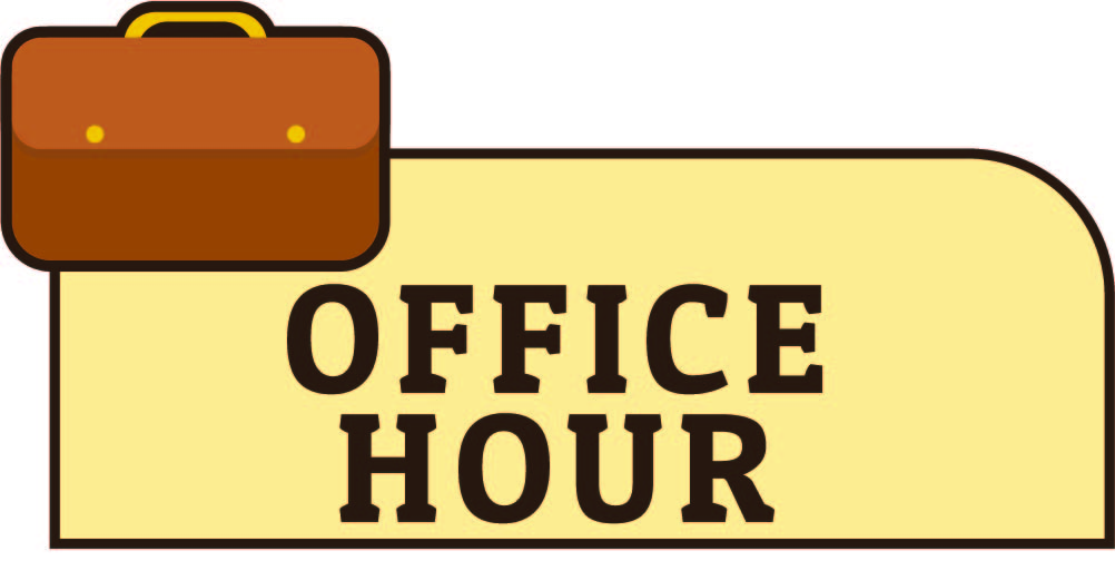 Free Printable Office Hours Sign