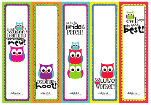 6 Images of Free Summer Bookmark Printables