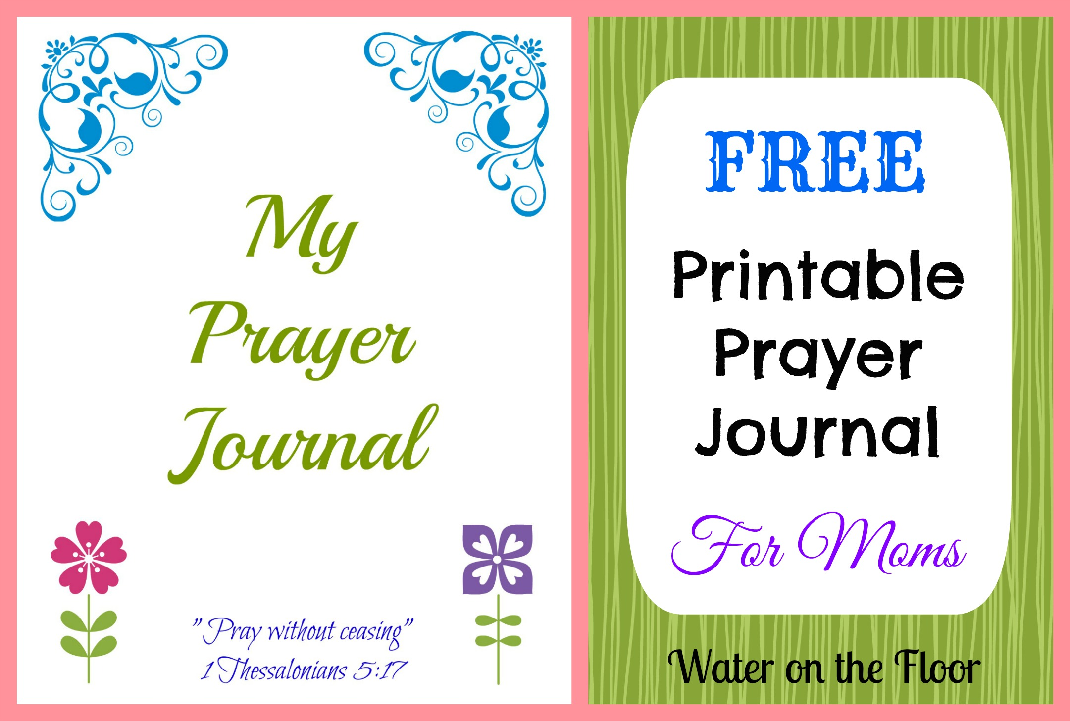 7 Images of Free Printable Prayer Journal