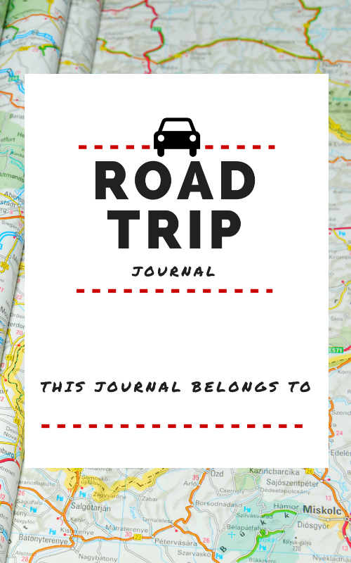 4 Best Images Of Road Trip Journal Printable Free