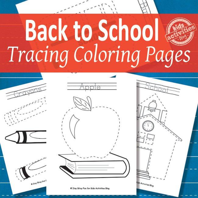6 Images of School Printable Activities