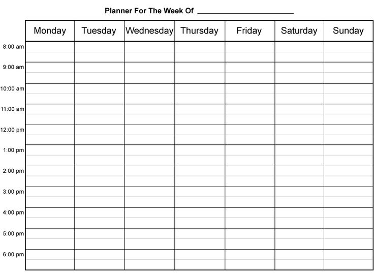 8 best images of printable daily appointment sheets free for Time management planner templates free