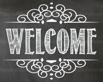 8 best images of welcome printable chalkboard art welcome home chalkboard sign welcome home
