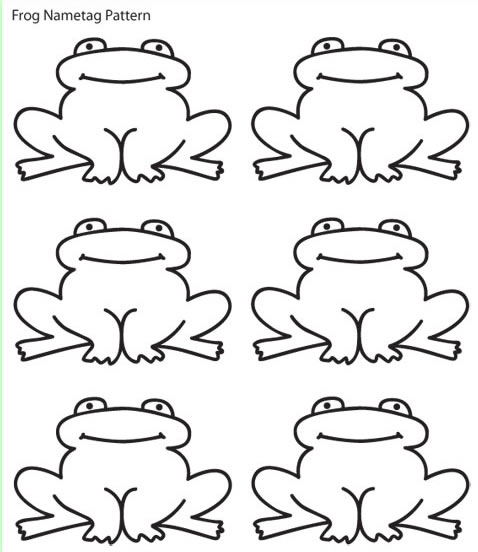 5 Best Images of Frog Printable Cut Out - Simple Frog ...