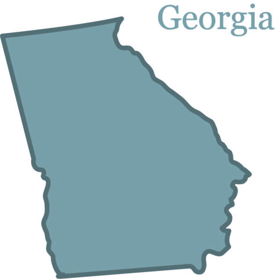 Georgia State Shape