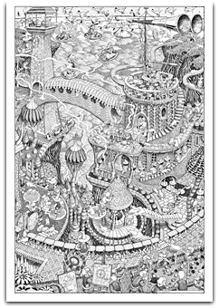 giant coloring posters adult - Posters To Color