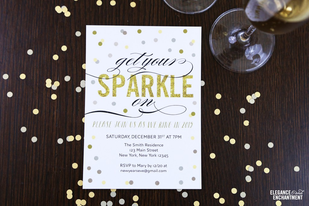 7 Images of Free Printable New Year's Eve Party