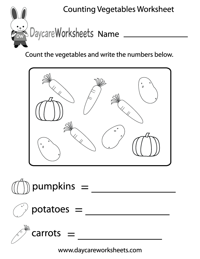 5 Images of Preschool Fruits And Vegetables Printables