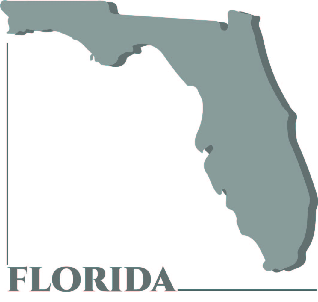 Printable Florida State Shape
