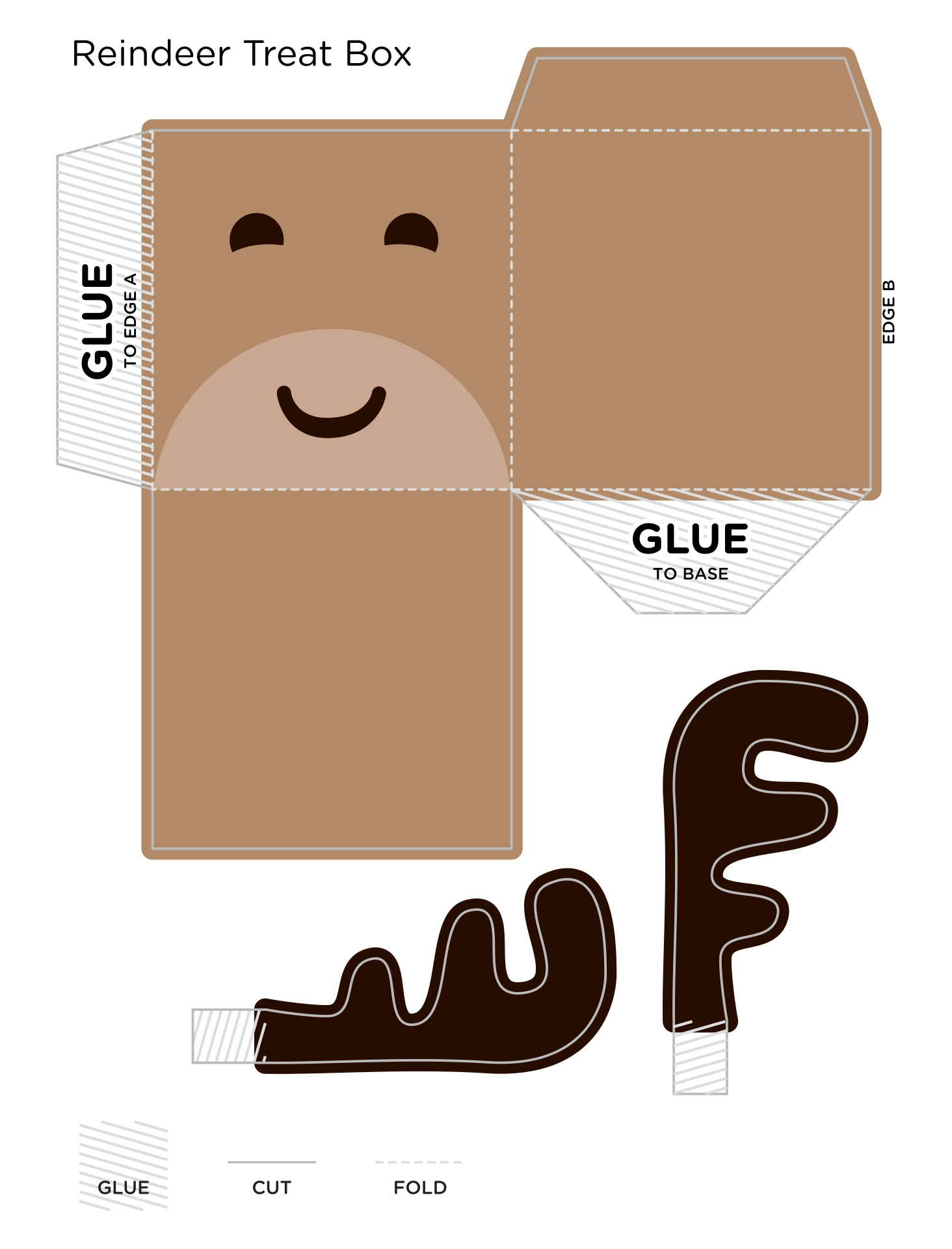 of Free Printable Kids Christmas Crafts - Printable Christmas Tree ...