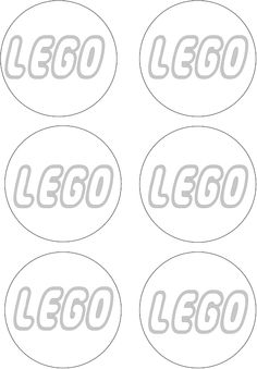 4 Images of Free Printable LEGO Logo