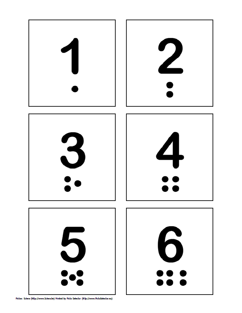 7 Images of Printable Numbers 1 Through 10