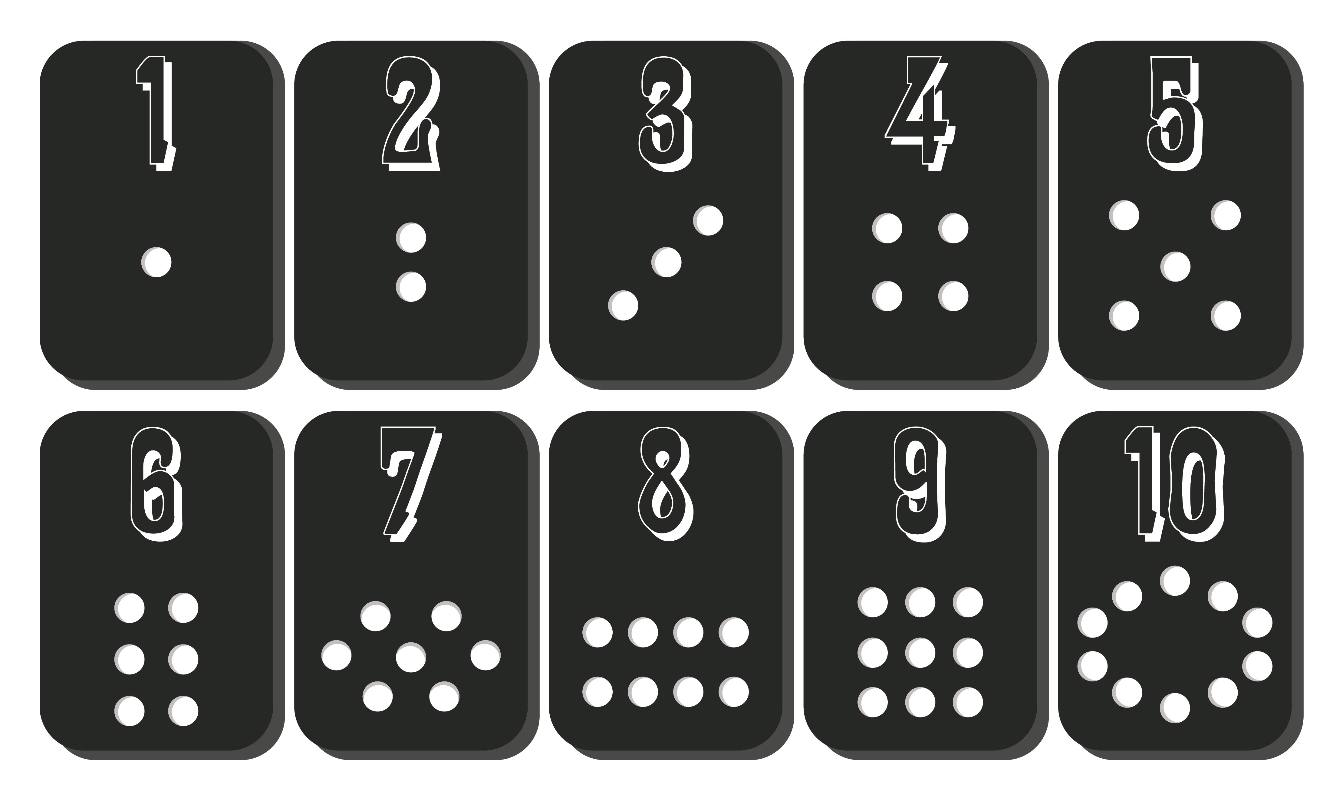 It's just a picture of Astounding Printable Number Cards 1 10