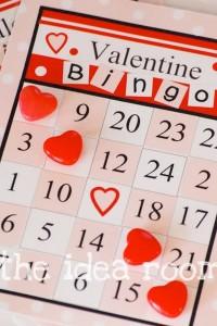 Printable Valentine Bingo Cards Blank