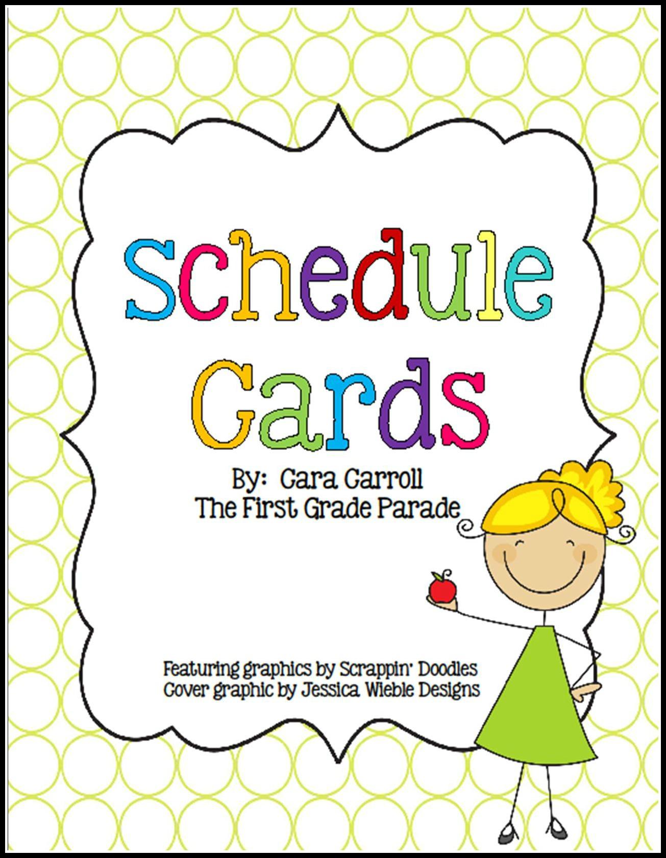 5 Best Images of Preschool Classroom Schedule Printables ...