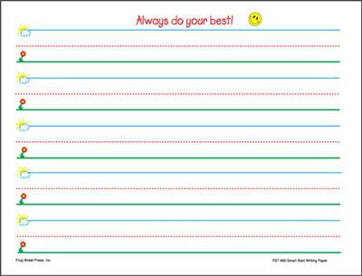 Number Names Worksheets kindergarten writing page : 6 Best Images of Notebook Paper Printable For Kindergarteners ...