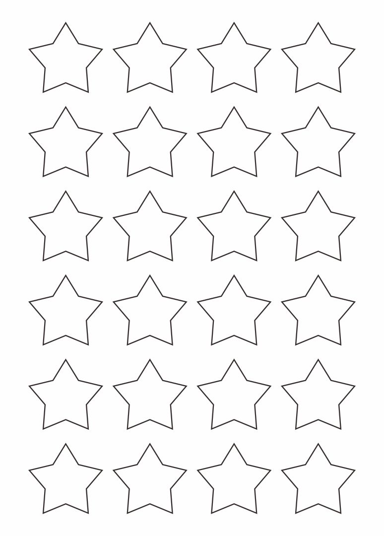 Star Templates Printable Free