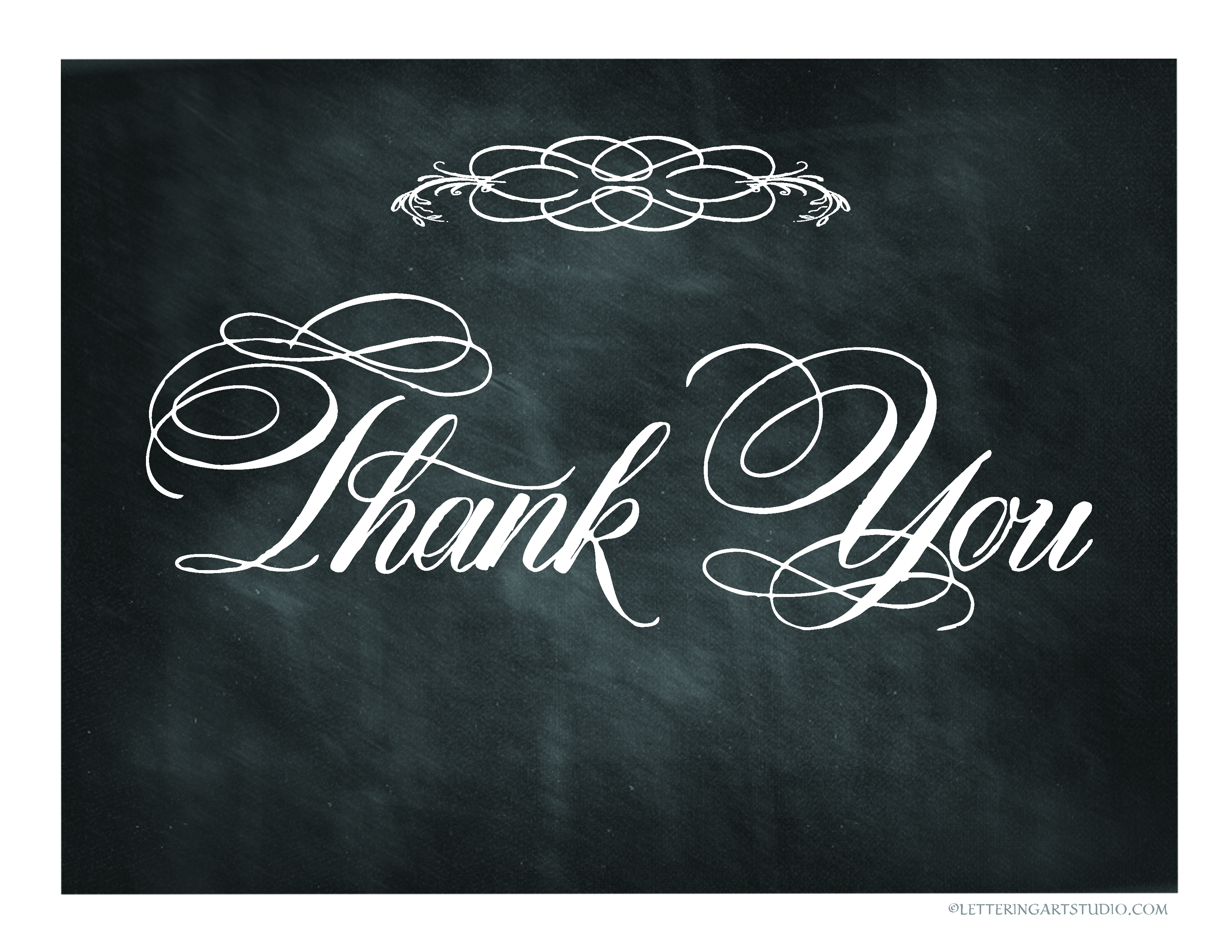 6 Images of Free Printable Chalkboard Thank You