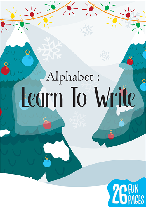 ALPHABET LEARN TO WRITE